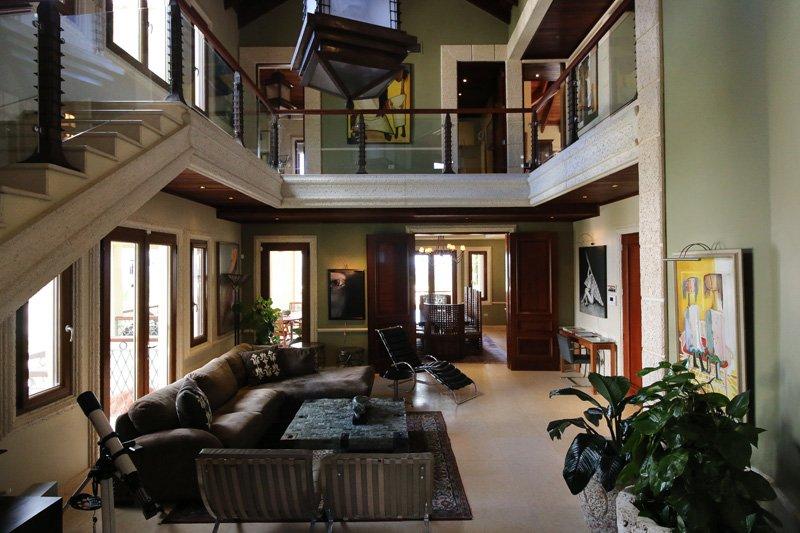 caribbean luxury rentals villa tuscany puerto rico rio the living room