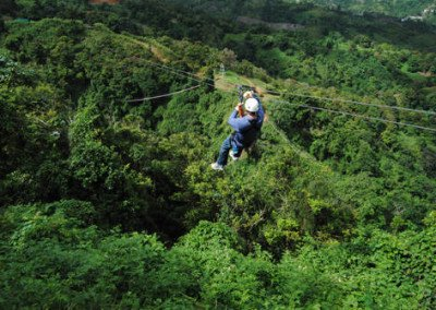 Zip Lining In The Rain Forest Starting at $120