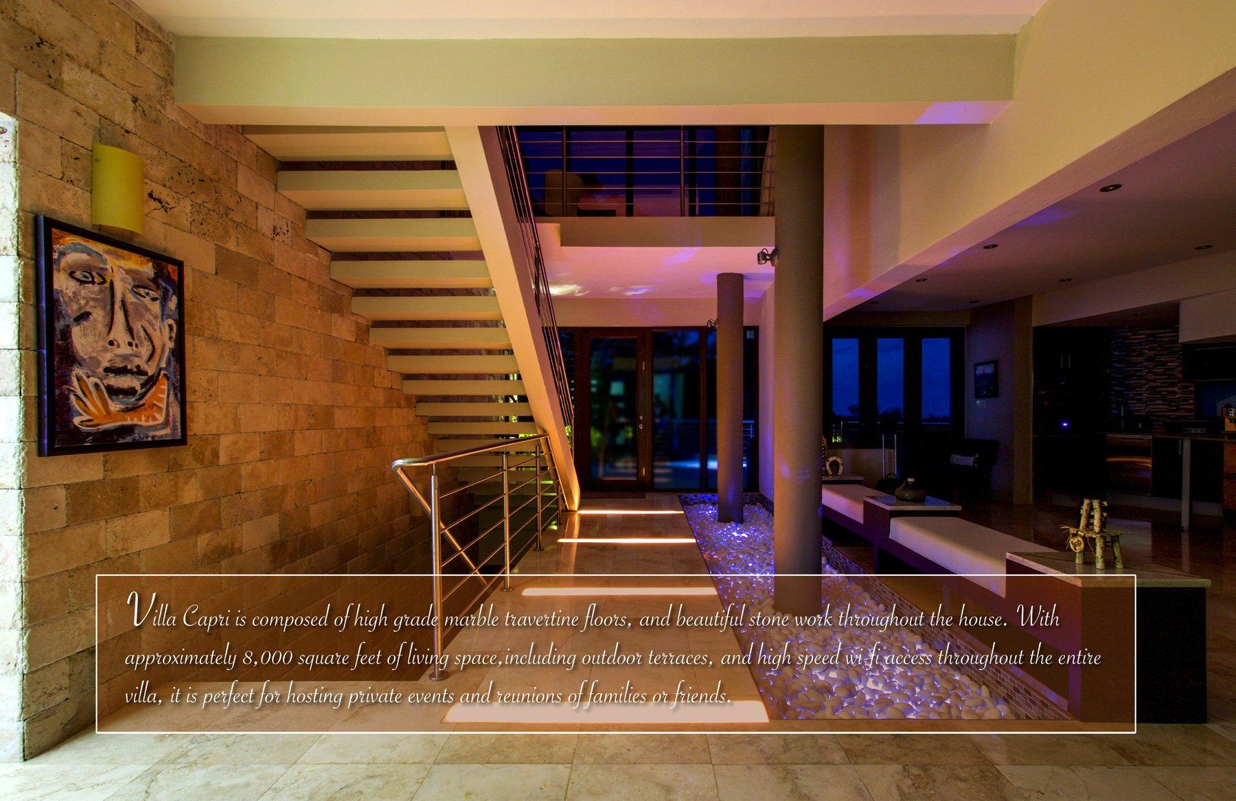 villa capri - caribbean luxury rentals