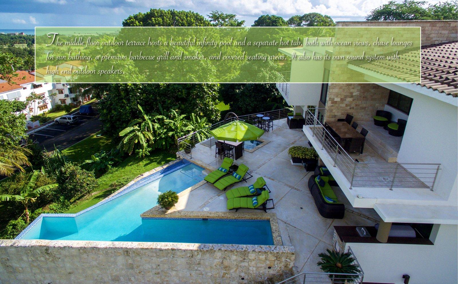 Villa capri caribbean luxury rentals for Capri villa